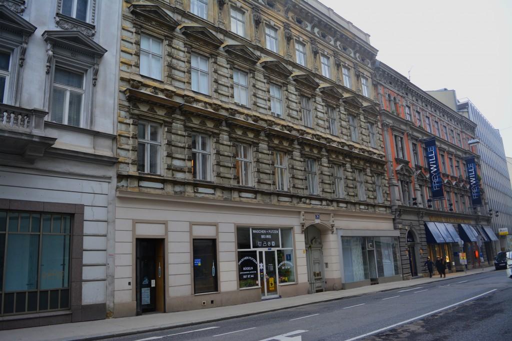 Das Haus Gumpendorfer Straße 79 heute