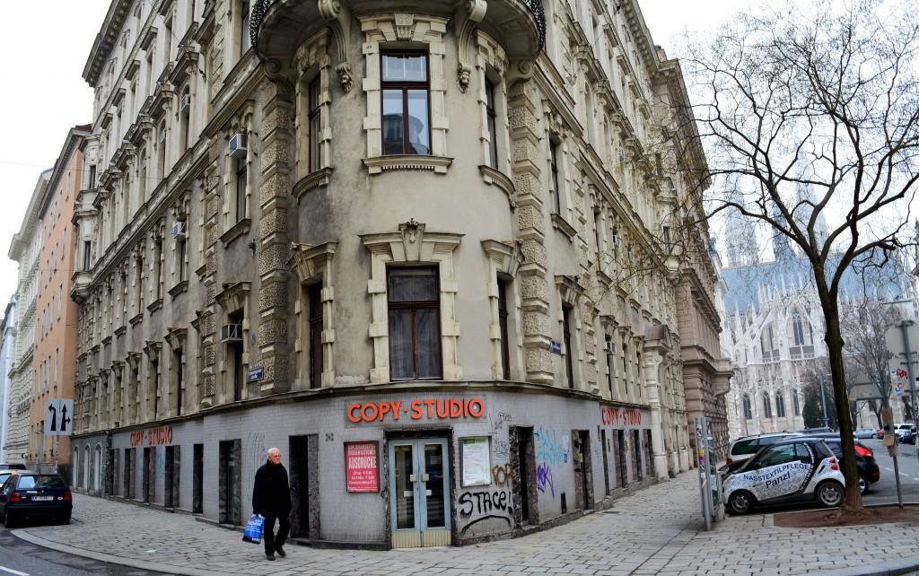 """In der Schwarzspanierstraße residierte die """"Arbeiter-Zeitung"""" in den neunziger Jahren"""